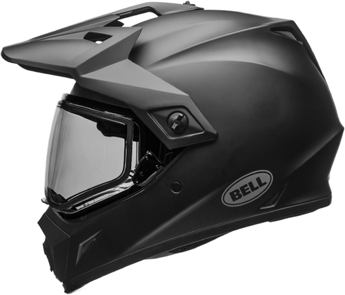 BELL MX-9 ADVENTURE SNOW MATTE BLACK