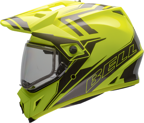 BELL MX-9 ADVENTURE SNOW GLOSS YELLOW/TITANIUM