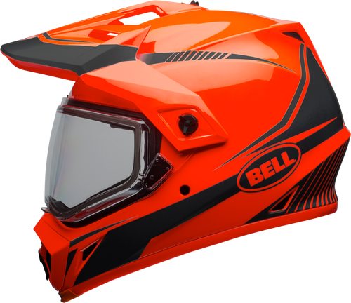 BELL MX-9 ADVENTURE SNOW TORCH GLOSS ORANGE/BLACK