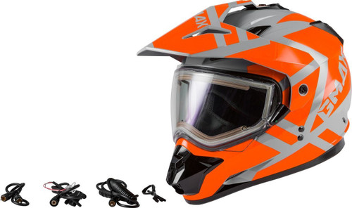 GM-11S Trapper Snow Helmet w/Electric Shield