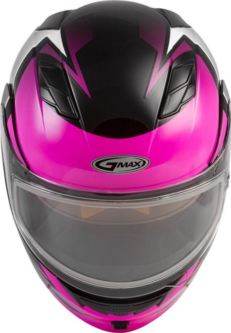 GMAX MD-01S Modular Snow Helmet Descendant Black/Pink/White