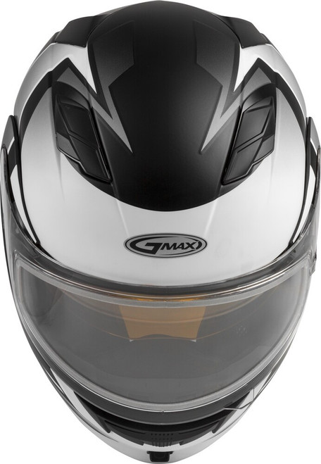 GMAX MD-01S Modular Snow Helmet Descendant Matte Black/White