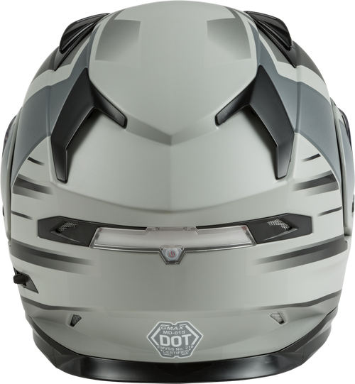 GMAX MD-01S Modular Snow Helmet Descendant Matte Grey/Silver