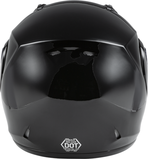GMAX MD-04S Modular Snow Helmet Black