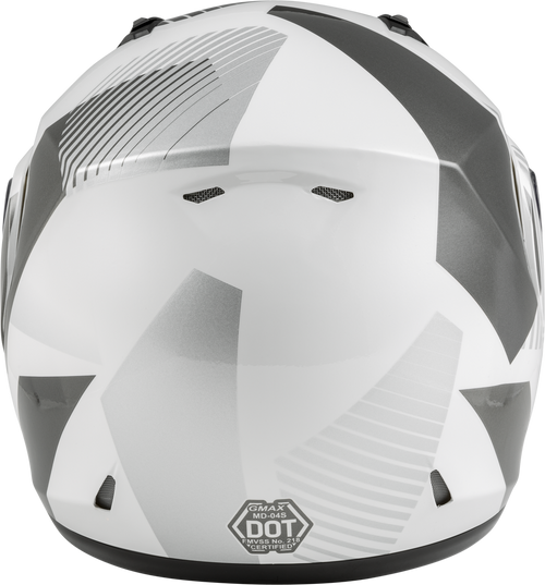 GMAX MD-04S Modular Reserve Snow Helmet White/Silver
