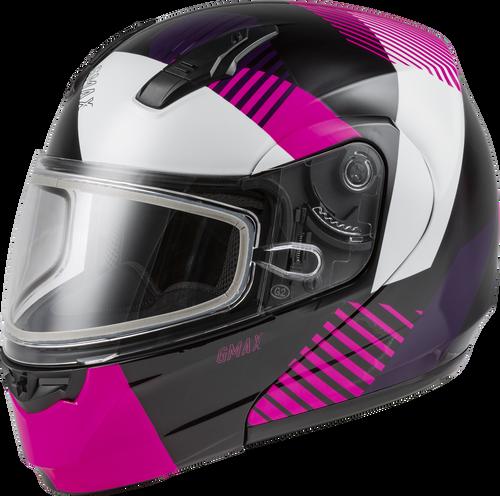 GMAX MD-04S Modular Reserve Snow Helmet Black/Pink/White