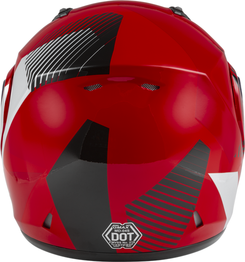 GMAX MD-04S Modular Reserve Snow Helmet Red/Silver/Black