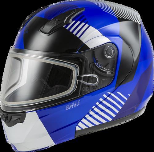 GMAX MD-04S Modular Reserve Snow Helmet Matte Dark Silver/Black