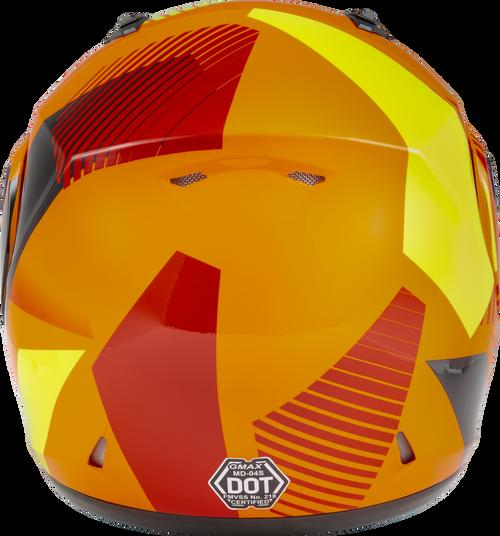 GMAX MD-04S Modular Reserve Snow Helmet Neon Orange/Hi-Vis