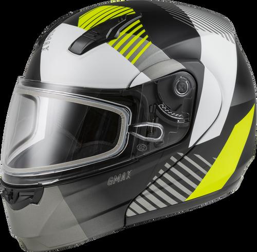 GMAX MD-04S Modular Reserve Snow Helmet Matte Black/Hi-Vis