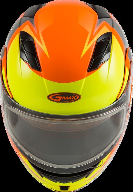 GMAX MD-01S Modular W/Elec Shield Descendant Neon Orange/Hi-Vis