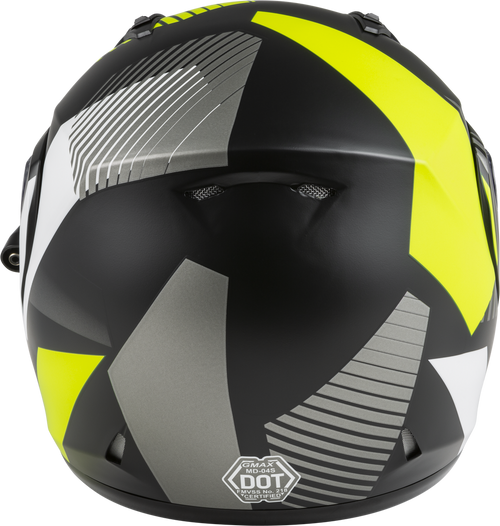GMAX MD-04S Modular Reserve W/Electric Shield Matte Black/Silver/Hi-Vis