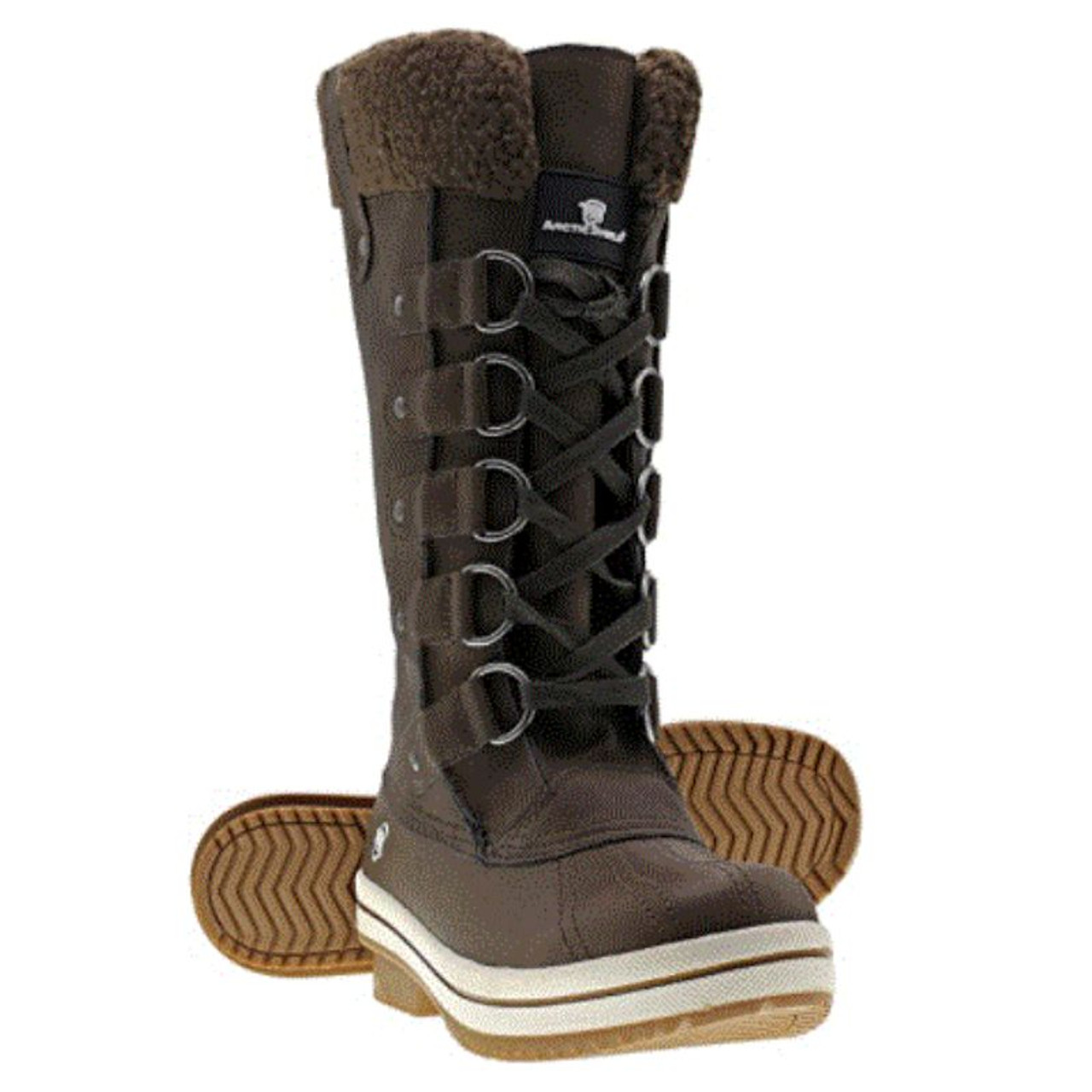 Arctic Shield Women's Warm Comfortable Insulated Outdoor Winter Snow Boots