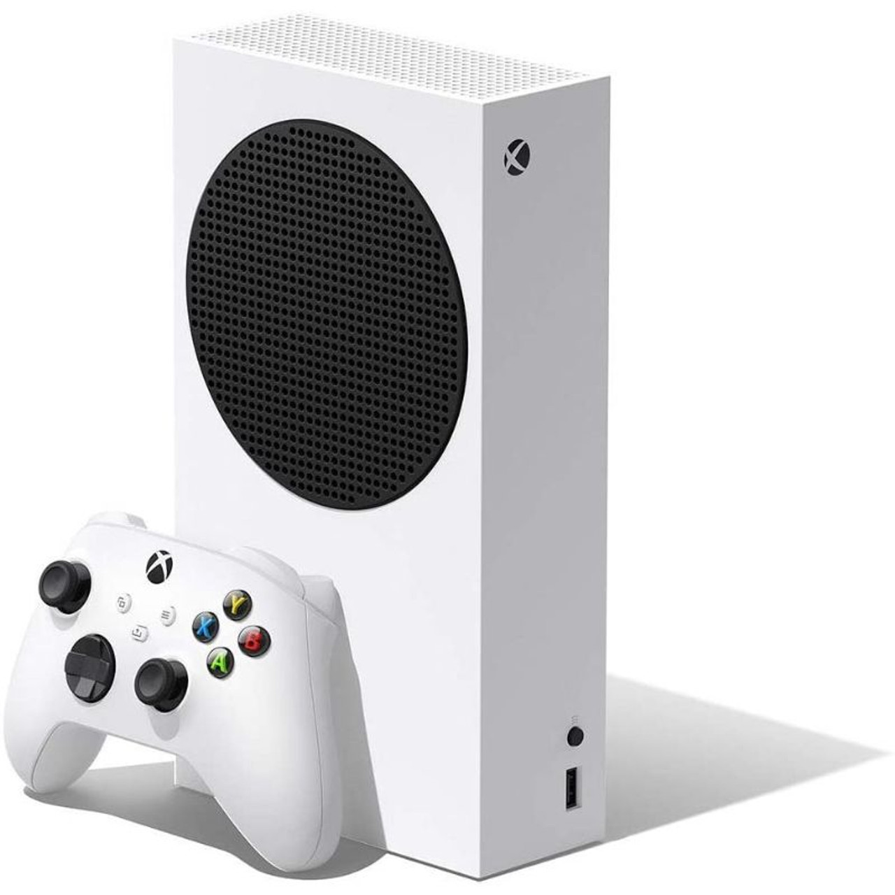 Microsoft Xbox Series S 512GB All-Digital Console Disc-free Gaming - White