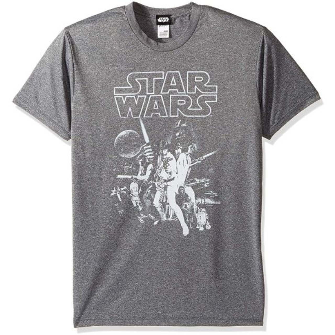 Star Wars Men's Official 'Poster' Design Performance Graphic Tee