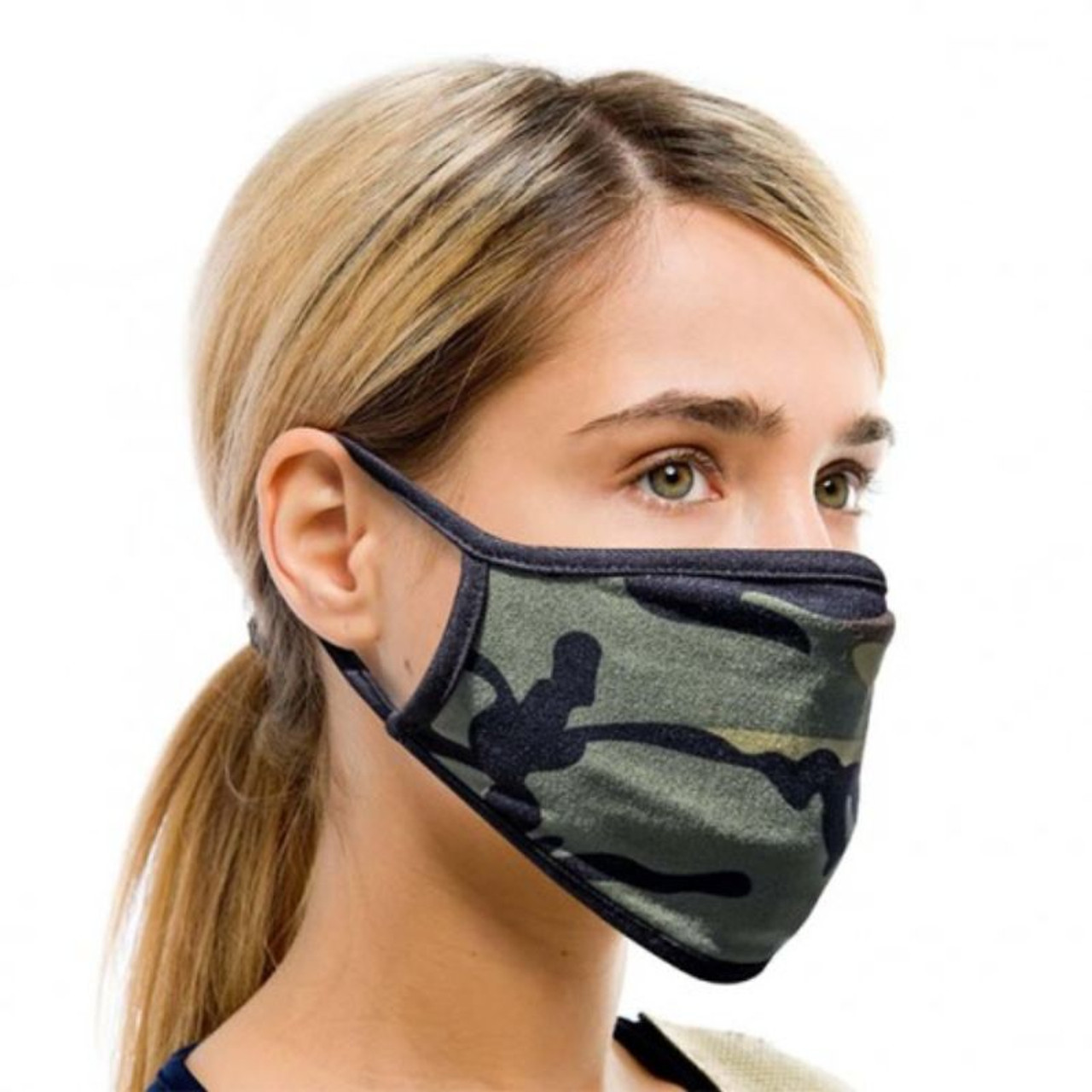 Fabric Non-Medical Face Masks - 6 Pack