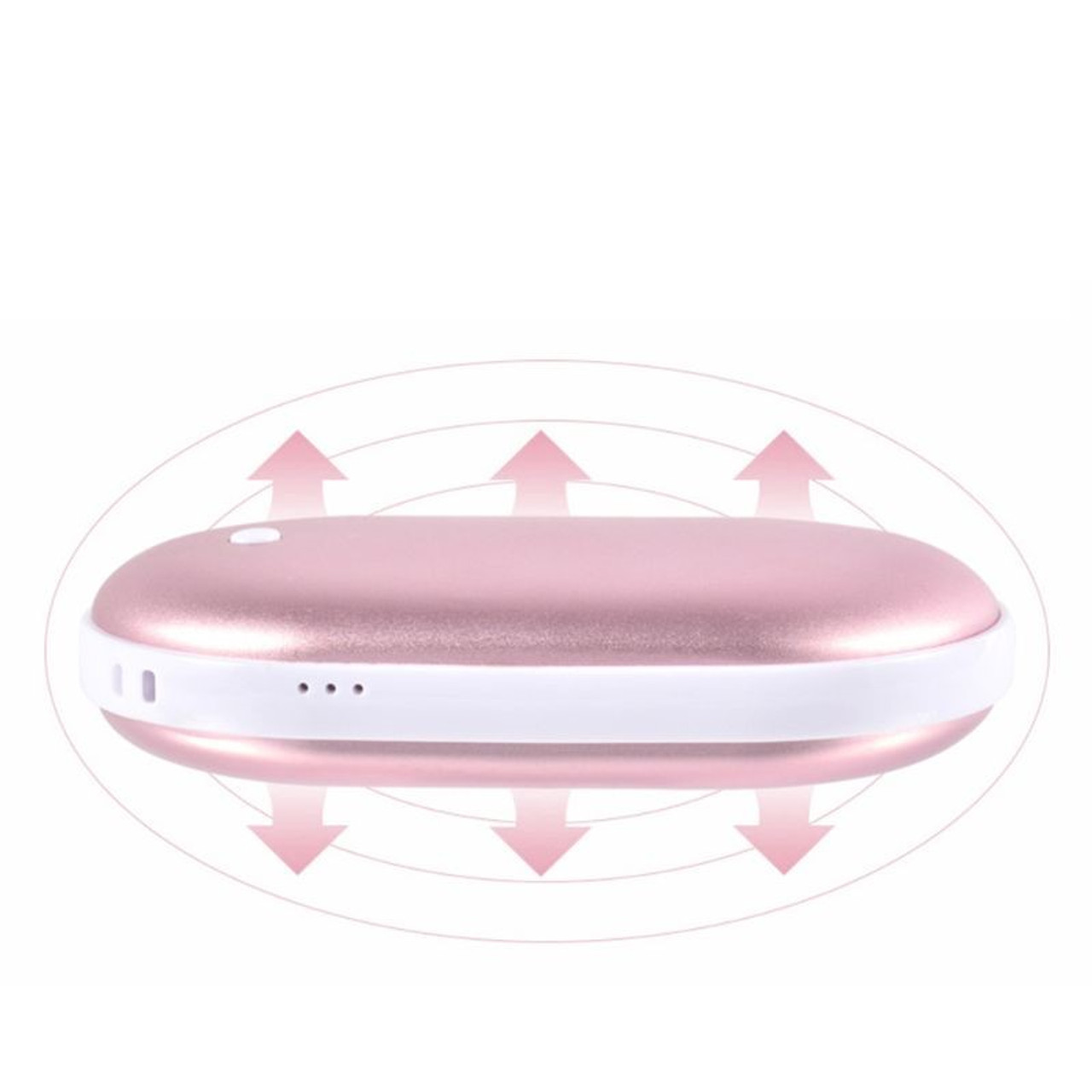 2-in-1 Cozy Palm Electric Hand Warmer and 5200mAh Power Bank