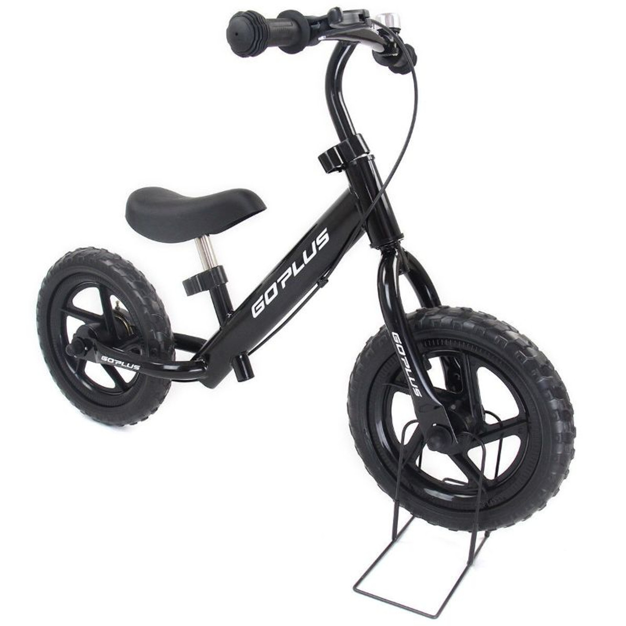 """12"""" Kids Balance Bike Scooter with Brakes and Bell"""