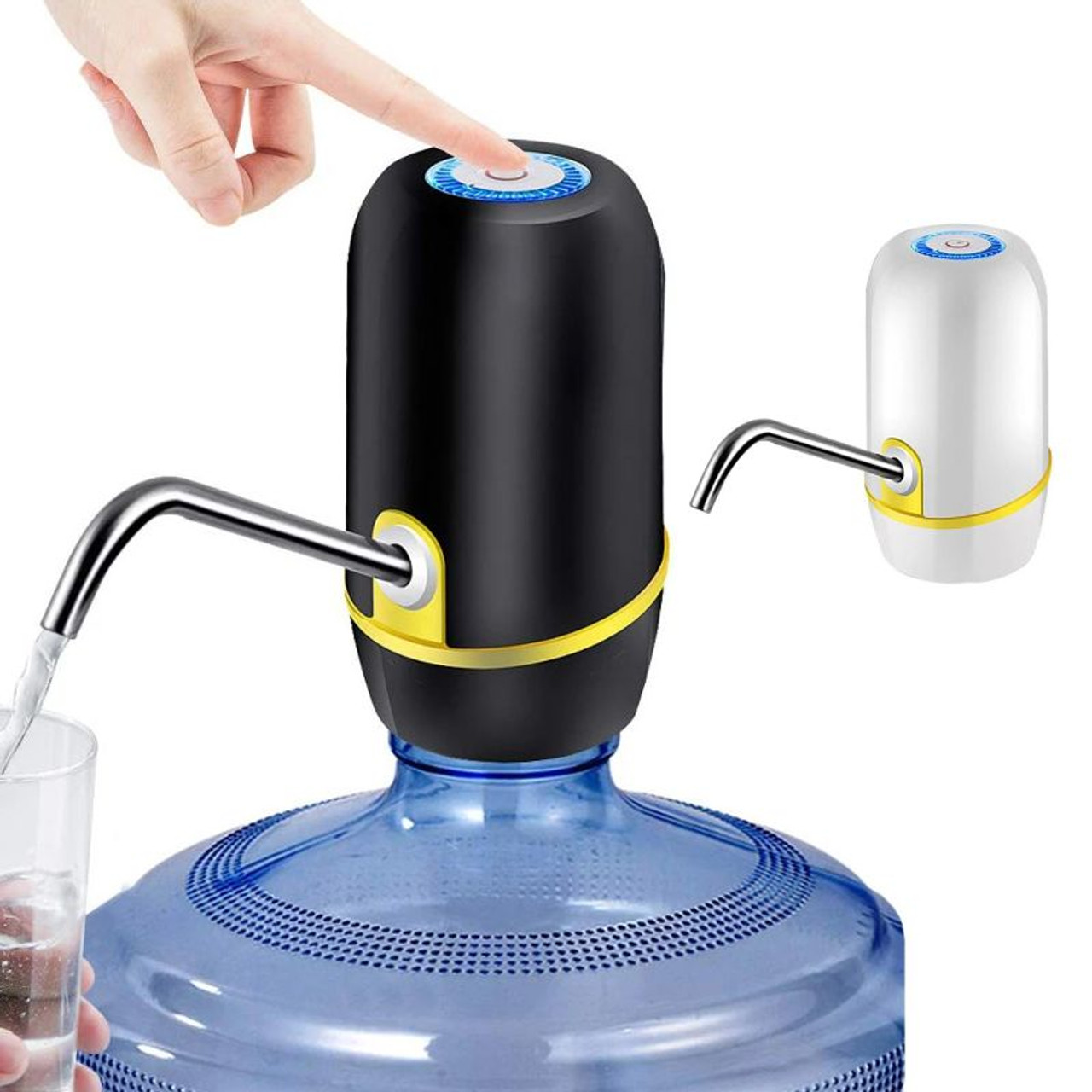 Portable Electric Rechargeable Automatic Water Bottle Pump and Dispenser