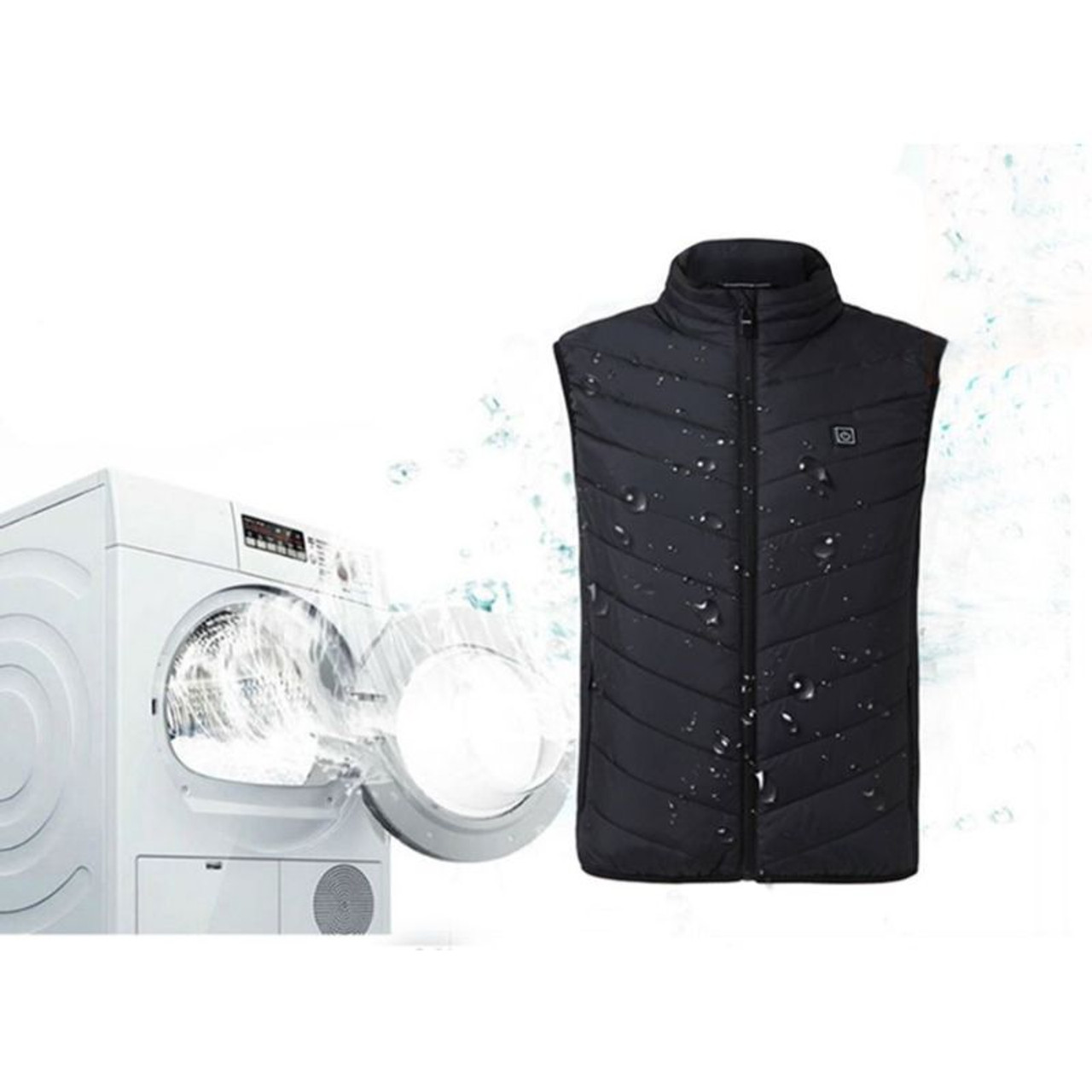 Electric Heated Vest with Temperature Control