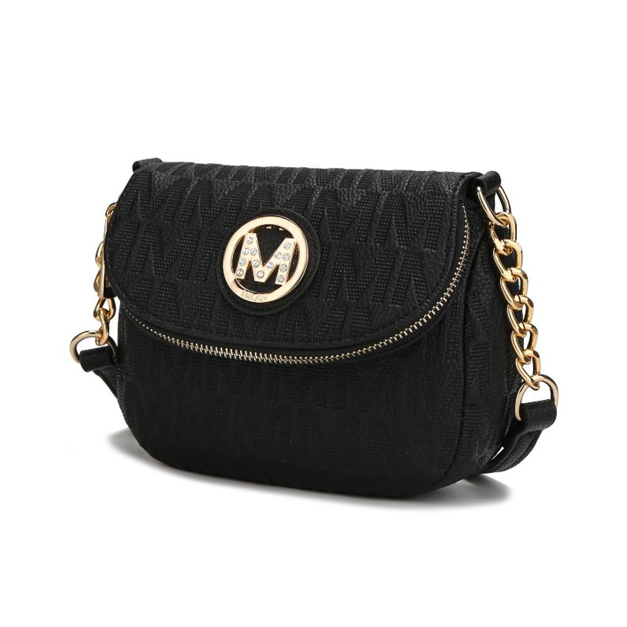 MKF Collection by Mia K - Cassidy Crossbody Flap Bag