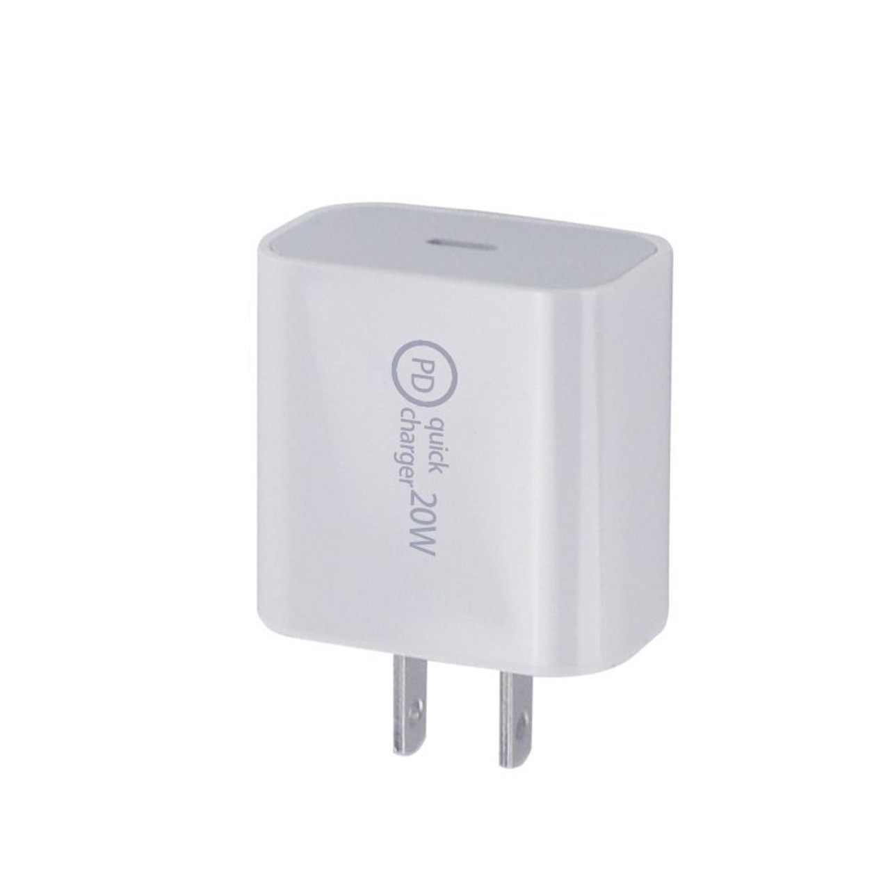 Fast Charger USB-C Wall Adapter & USB-C Cable - 2 Pack