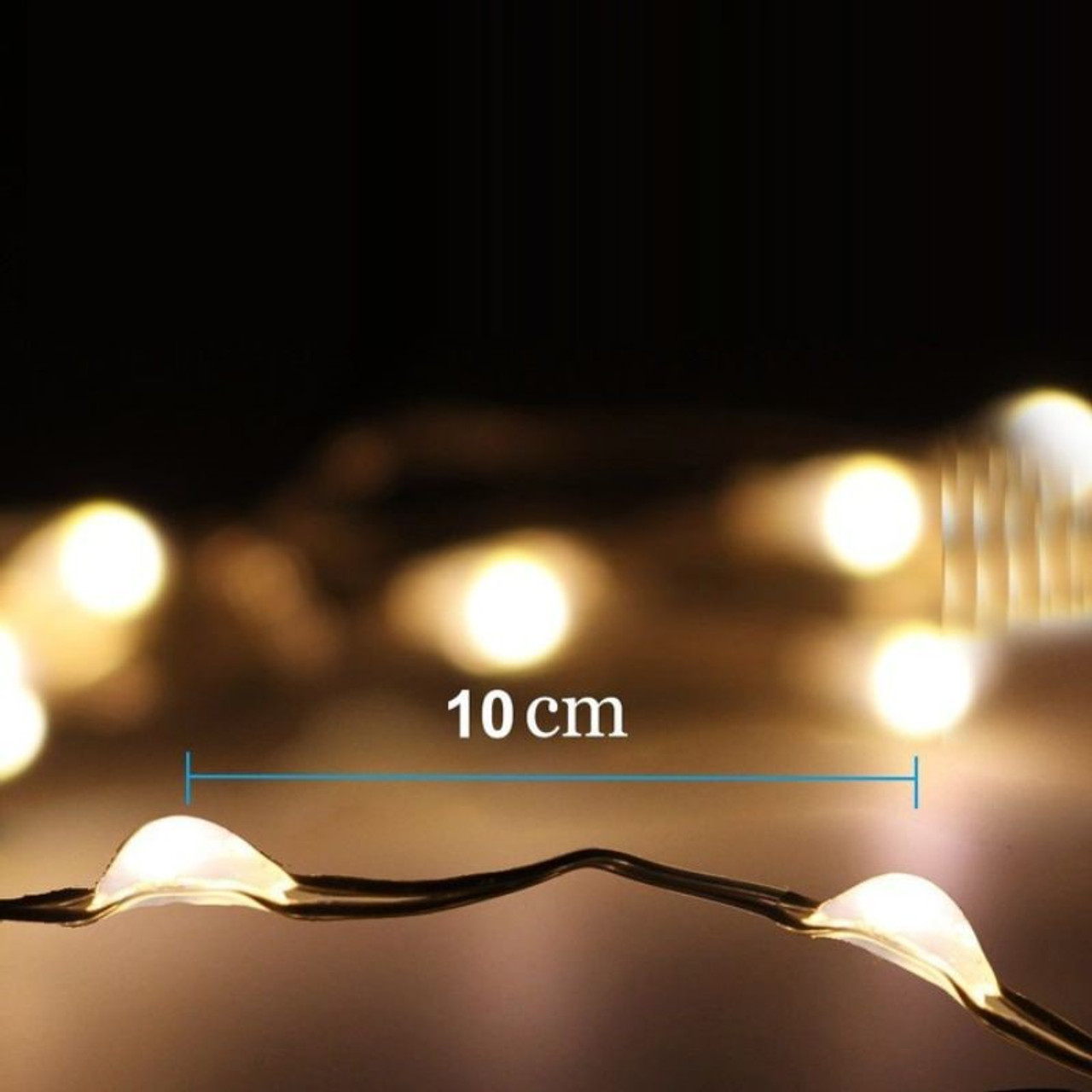 100 Led Outdoor String Lights For Christmas Decorations Light