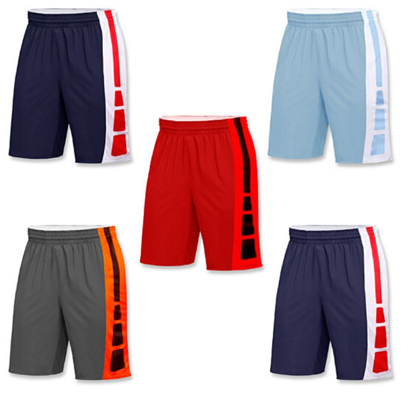 Mystery Deal: Men's Active Athletic Performance Shorts - 5 Pack