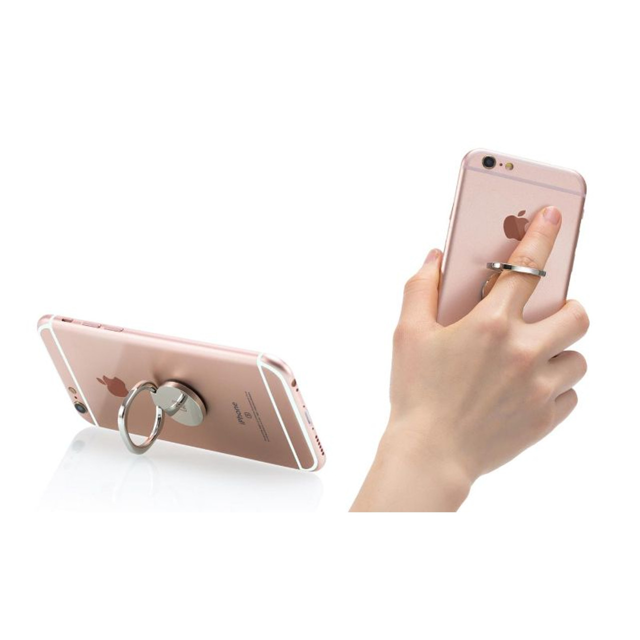 Stylish Ring Phone Stand Pro with 180-Degree Rotation