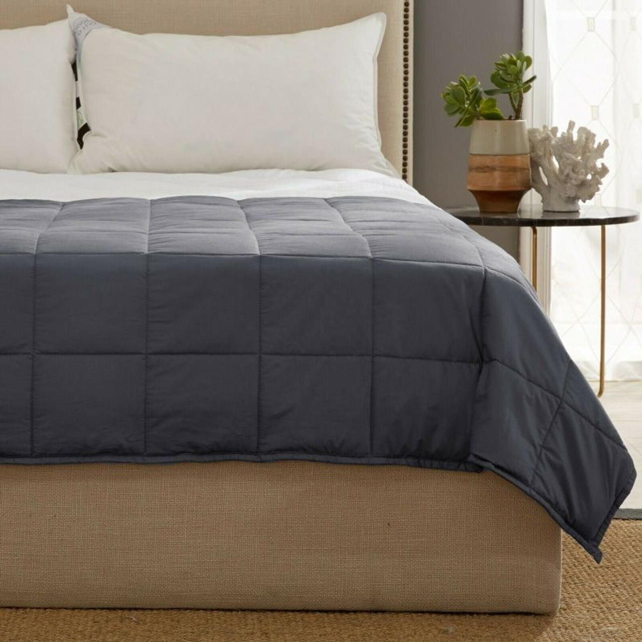 Kathy Ireland Weighted Blanket with Glass Beads