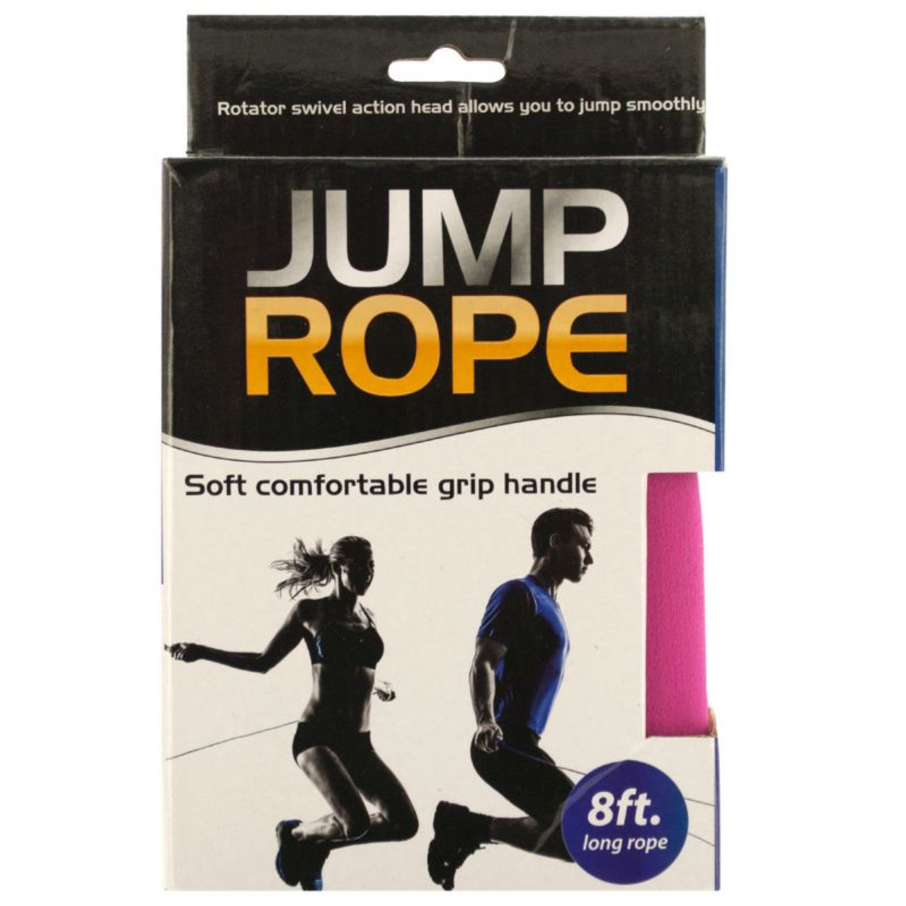 Soft Grip 8ft Workout Jump Rope - 2 Pack
