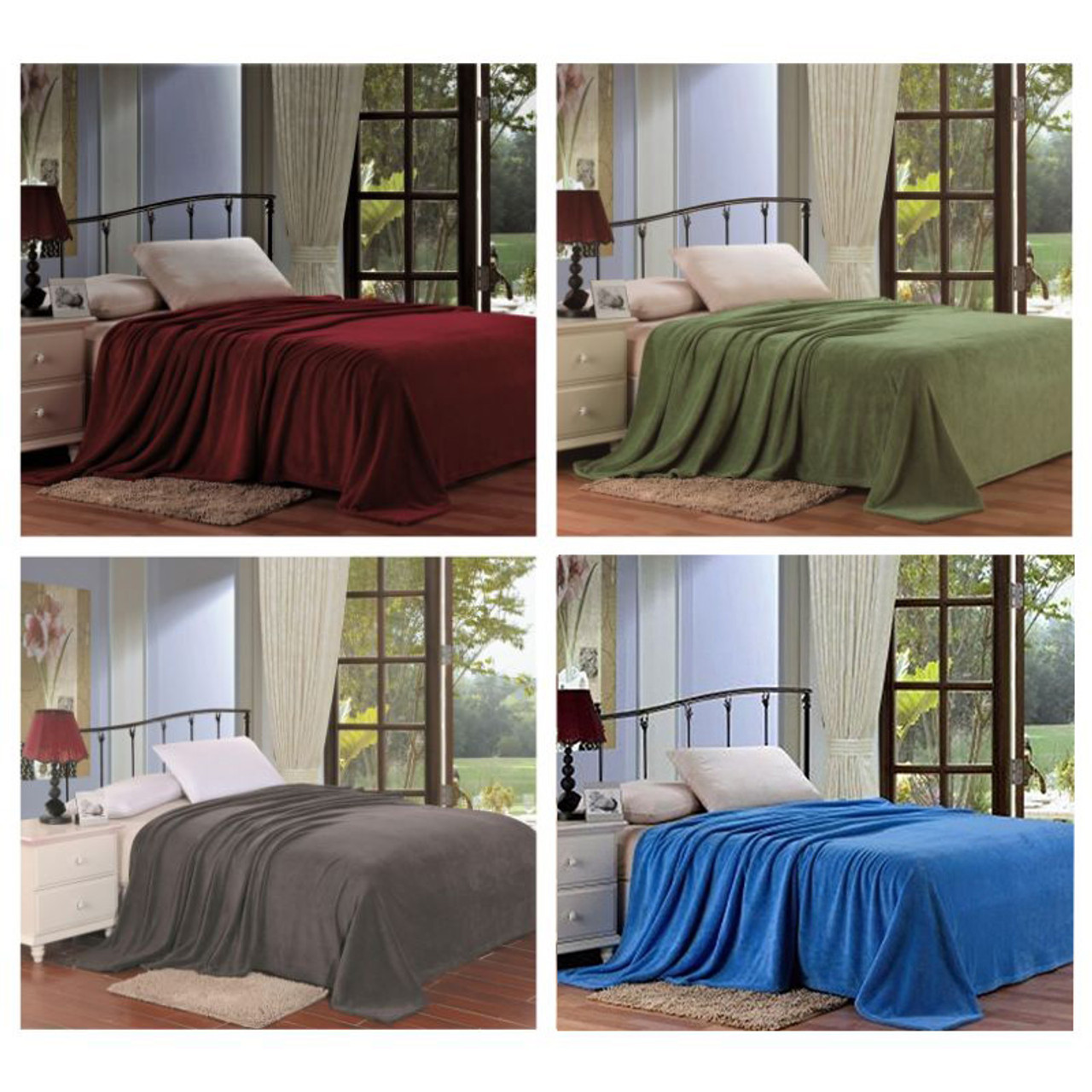 Noble House Extra Soft and Cozy Microplush Blanket