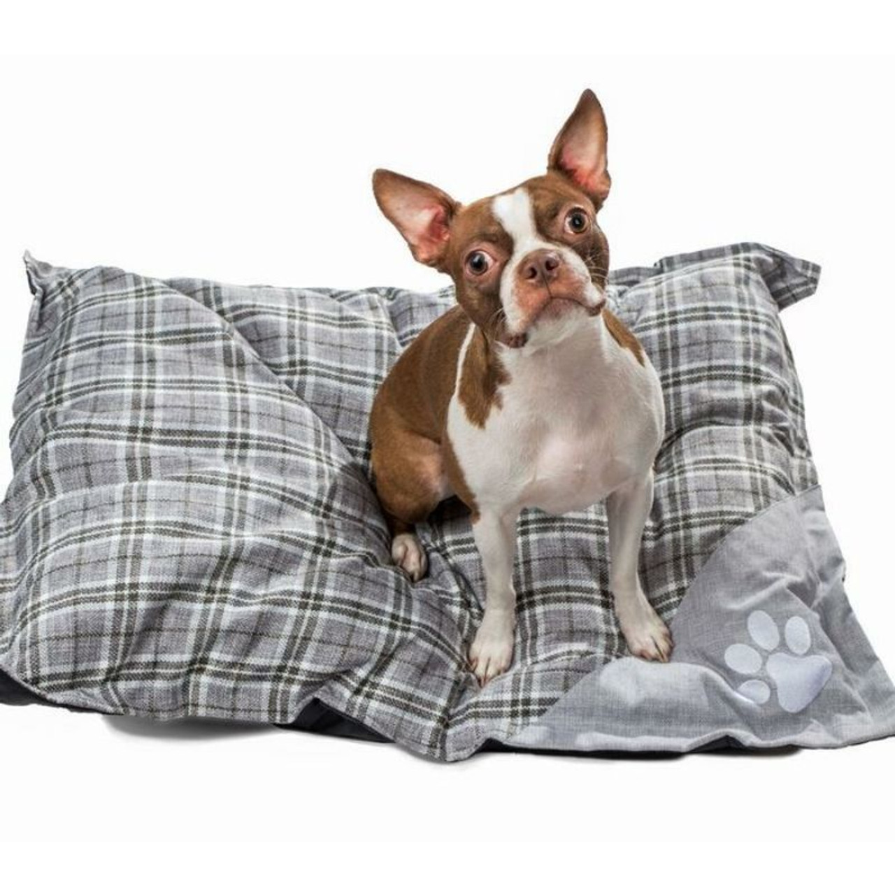 Wags and Whiskers Jumbo Orthopedic Pet Dog Bed Pillow Mattress