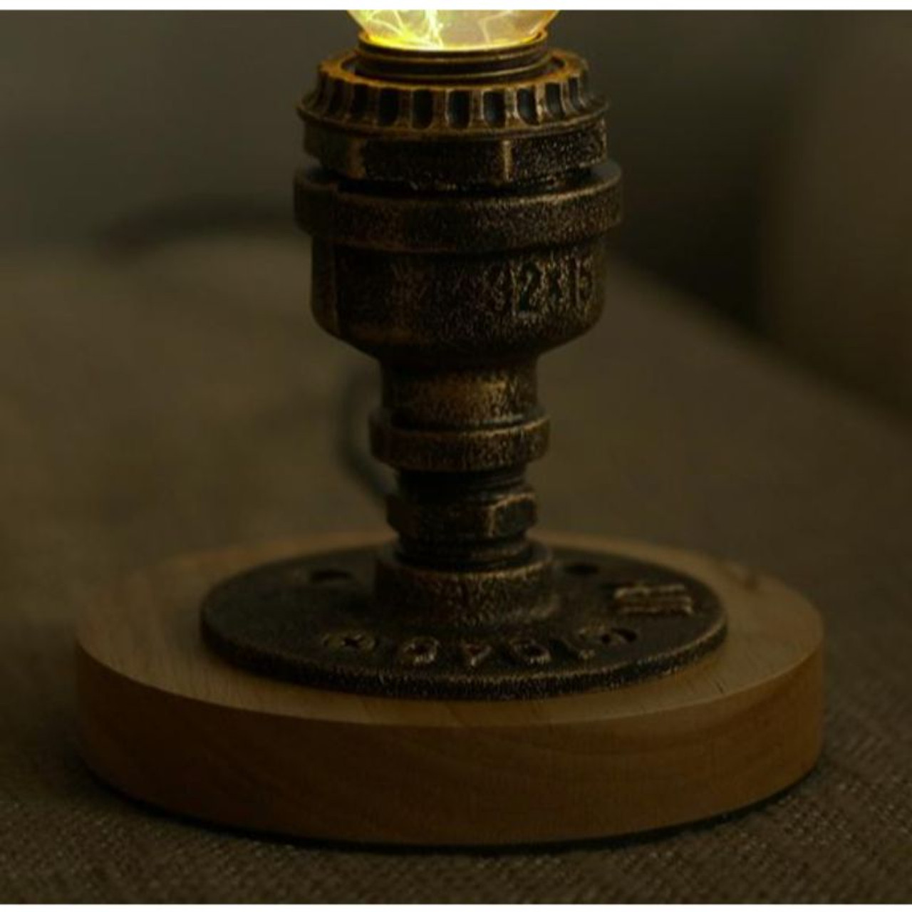 EP Light Memory Bulb Art Fixture Lamp with Optional Modern or Vintage Base Stand