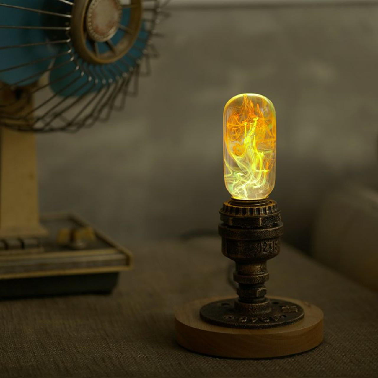 EP Light Youth Bulb Art Fixture Lamp with Optional Modern or Vintage Base Stand