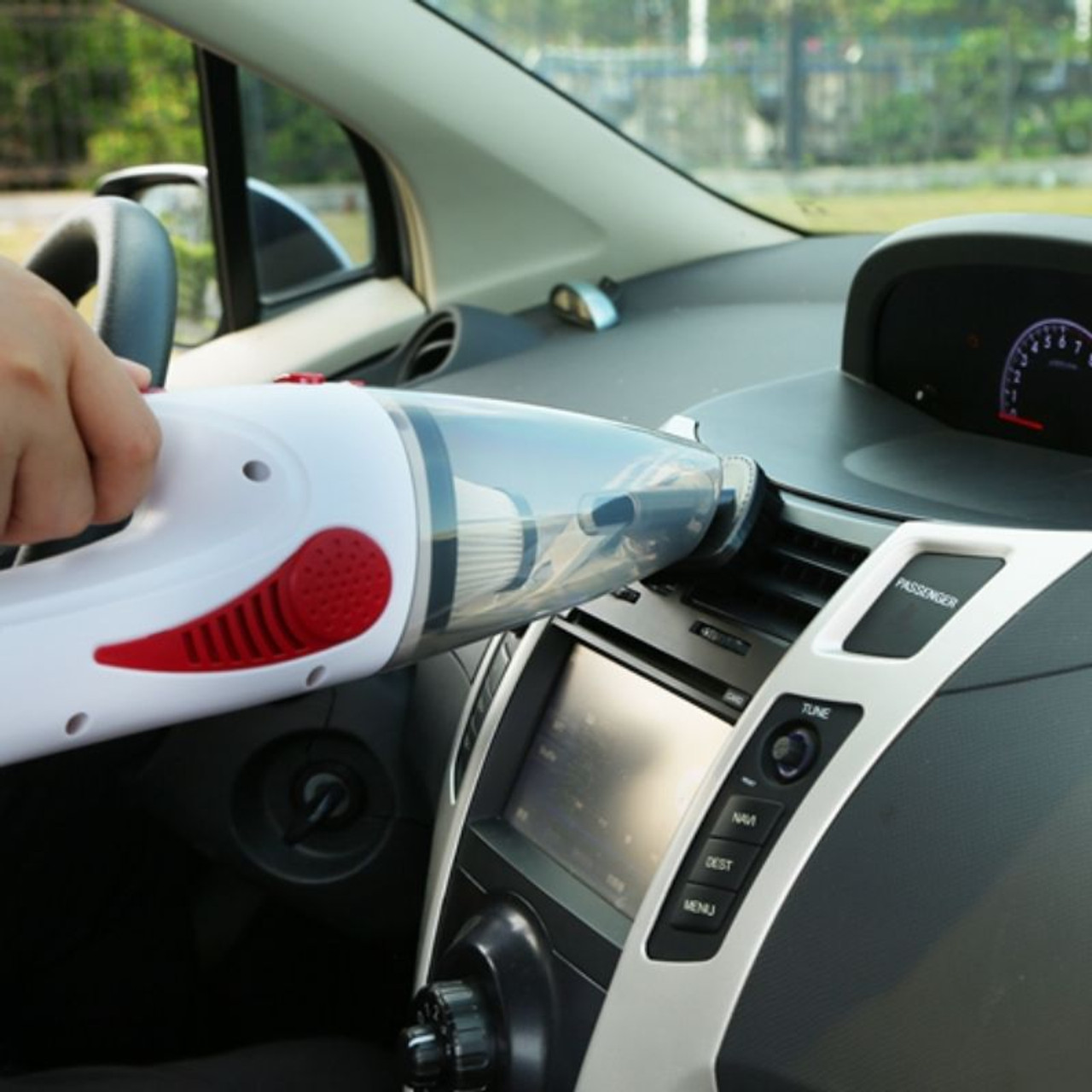 Car Handheld Cyclonic Suction Wet/Dry Auto Vacuum Clean
