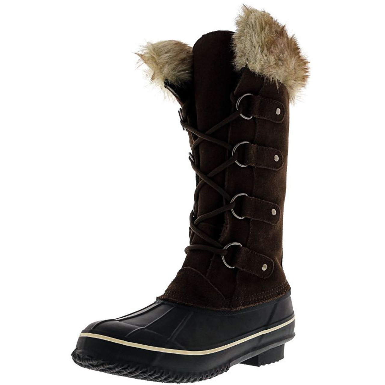 Kreated Equal Faux Fur Women's Tall Arctic Winter Boots