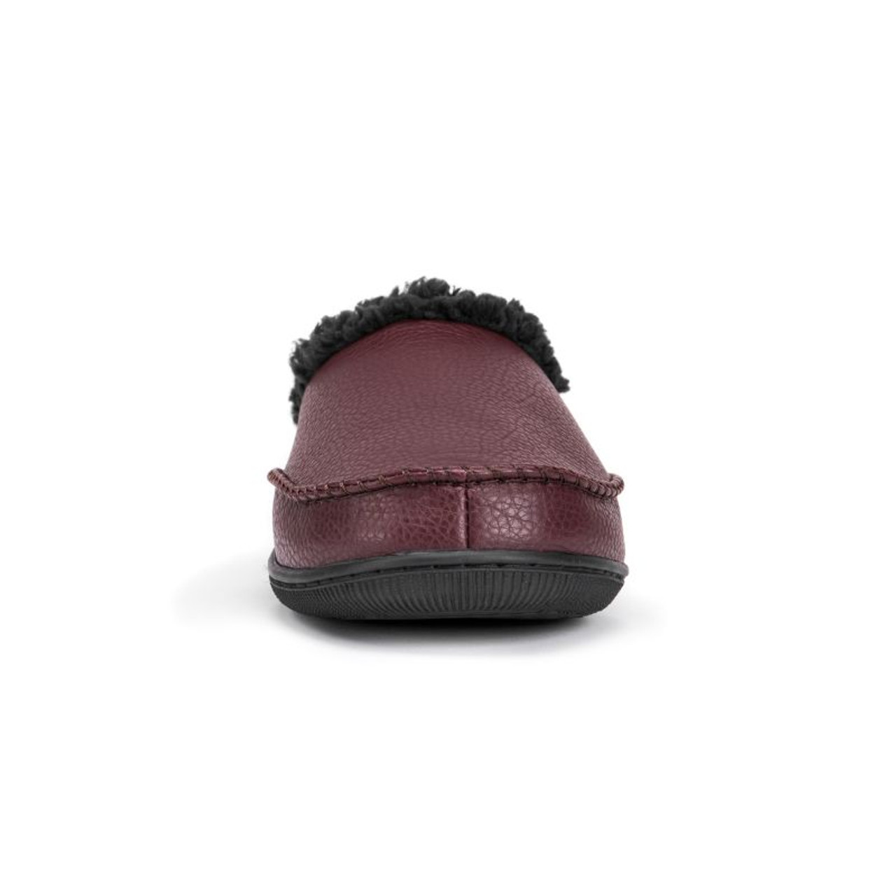 Muk Luks Men's Faux Leather Clog Slippers