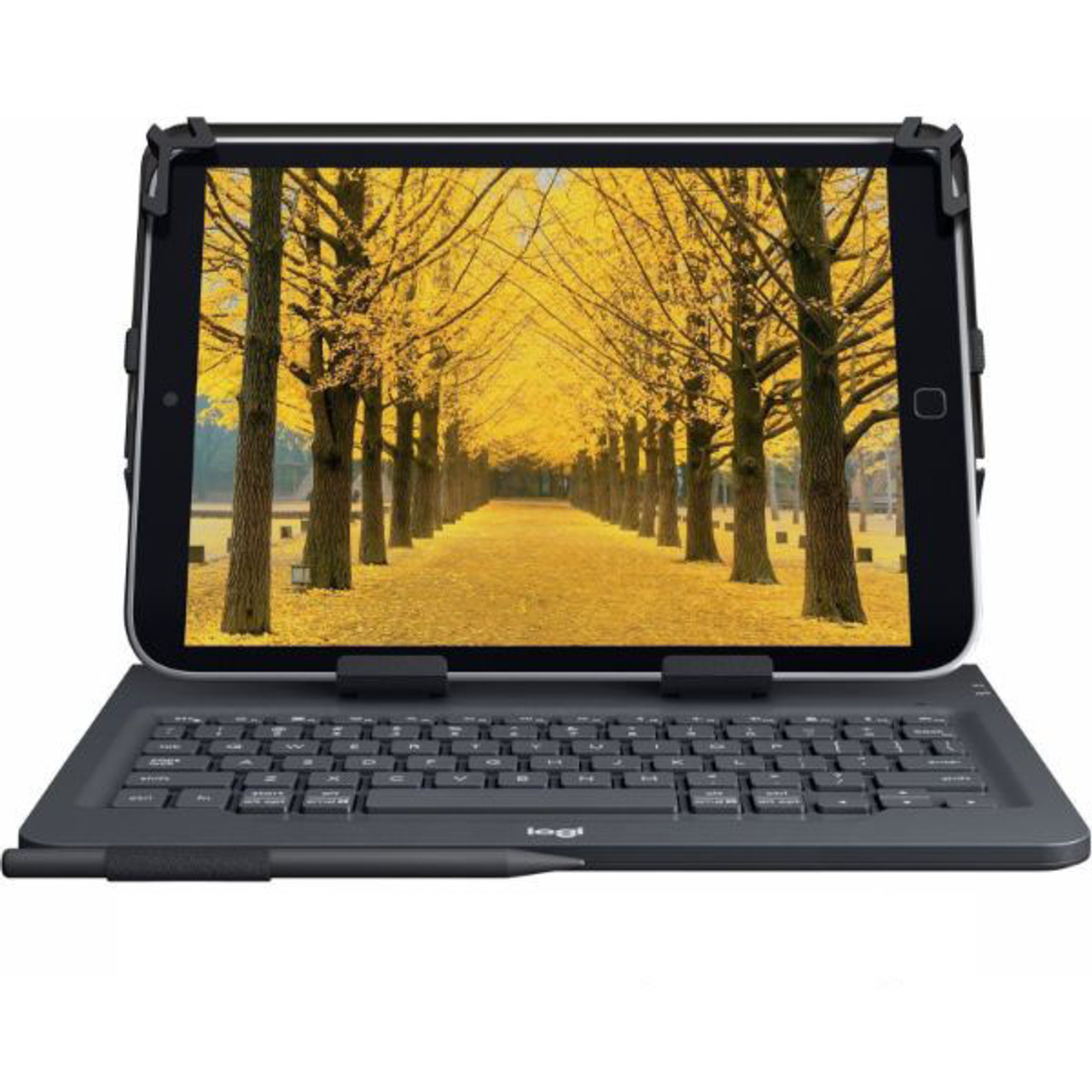 """Logitech Universal Folio with Integrated Bluetooth 3.0 Keyboard for 9-10"""" Apple, Android, Windows Tablets"""