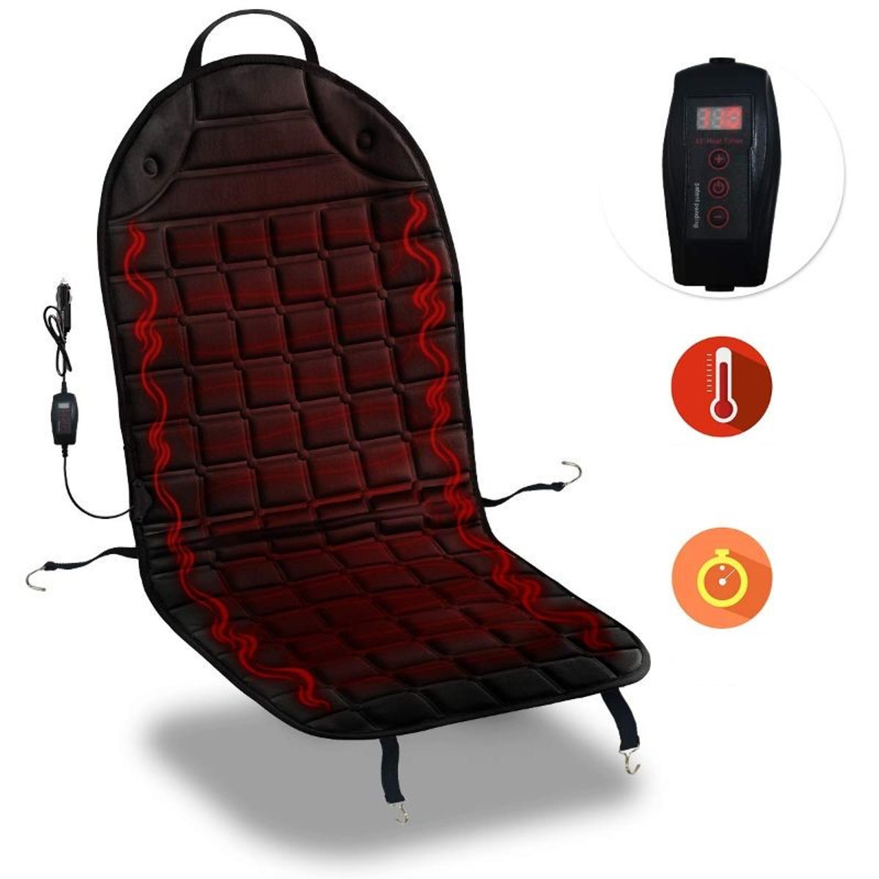 Heated Seat Cover and Warmer - 2019 Version