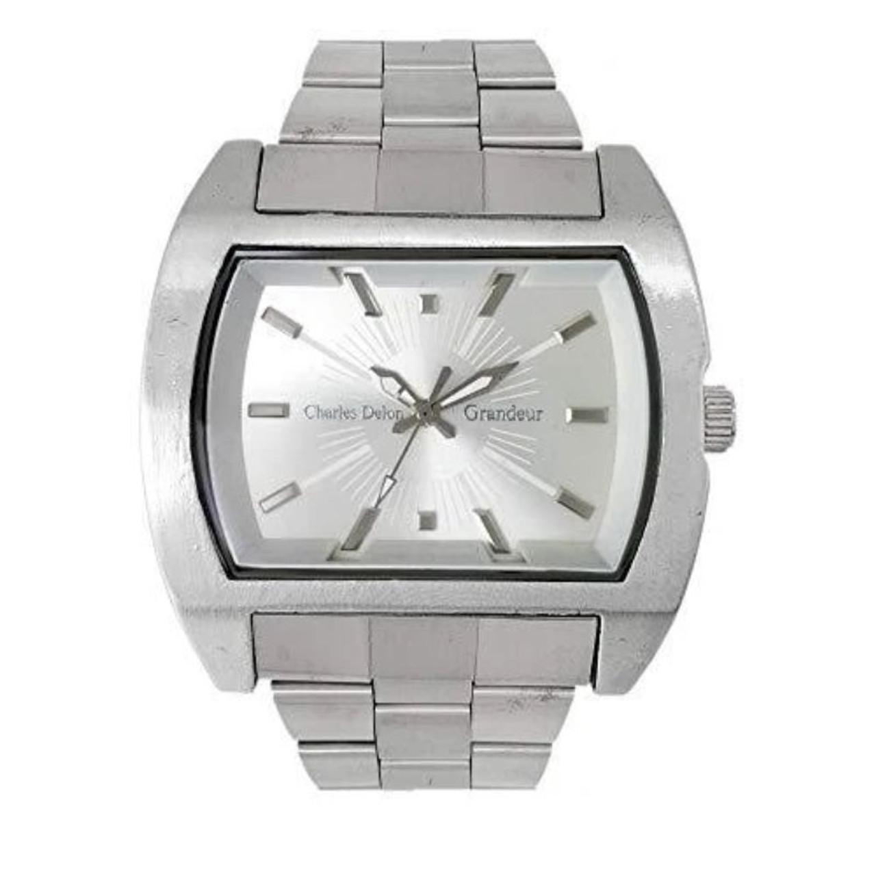 Charles Delon Men's Watches 5152 GPSS Silver Stainless Steel Quartz