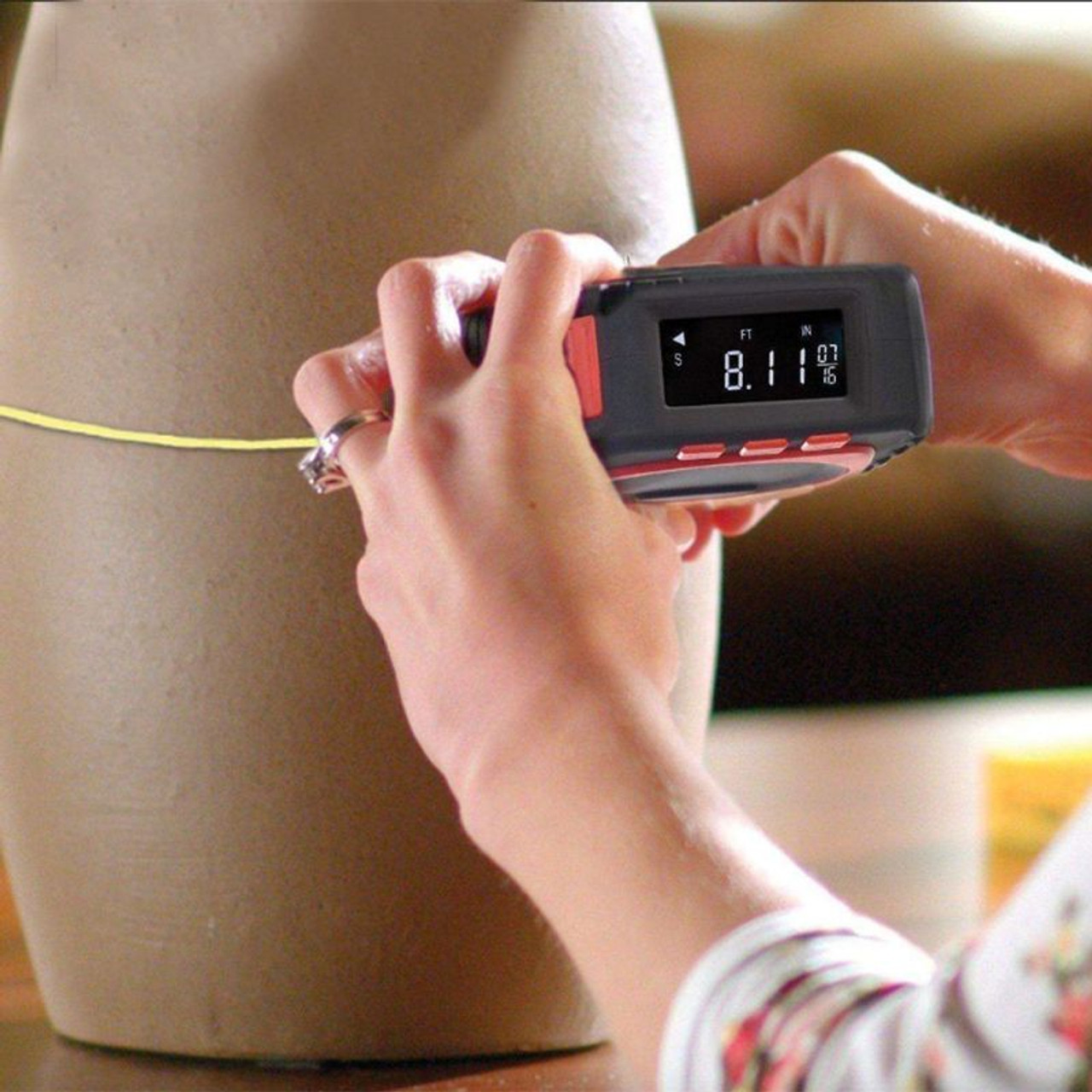 3 in 1 Measuring Tape With Roll Cord Mode High Accuracy Laser