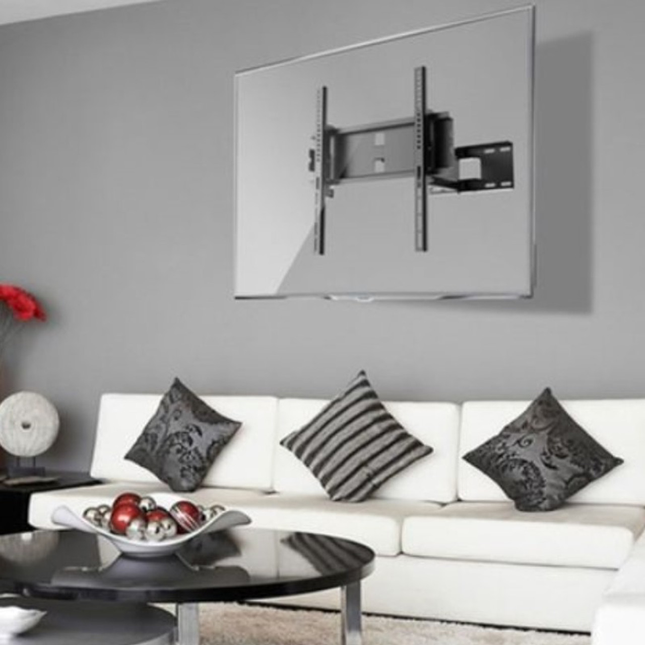 """Play 23""""-47"""" TV Full-Motion Wall Mount"""