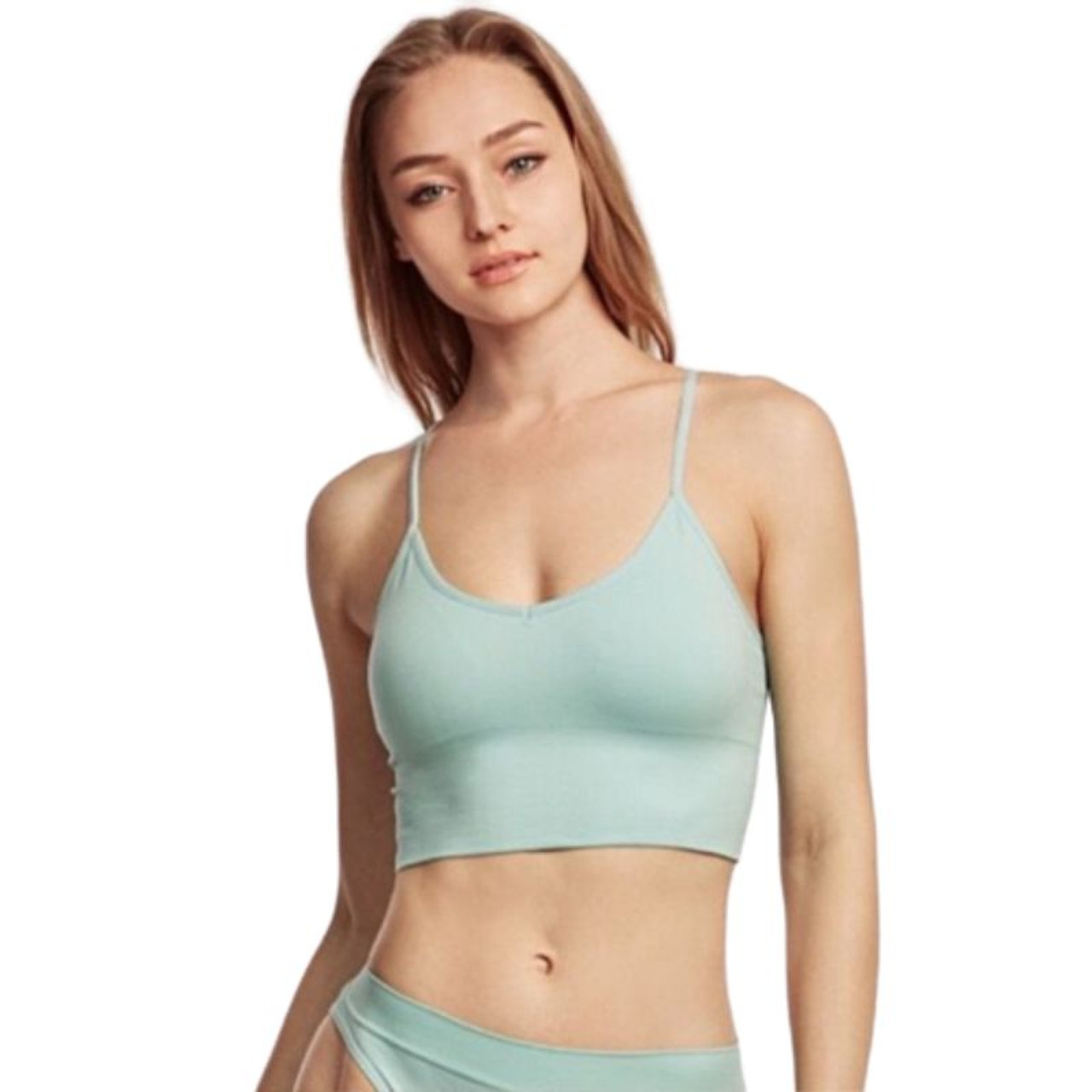 Mystery Deal: Breathable Seamless Spaghetti Strap Sports Bra - 3 Pack