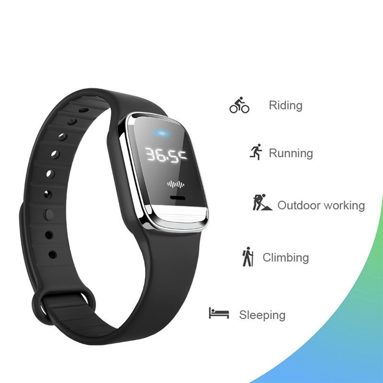 IntelRepel - The Ultrasonic Mosquito Repellent Watch With Thermometer V3