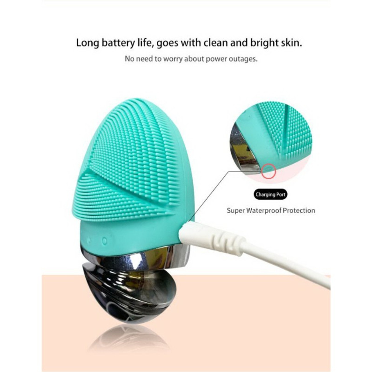 Sonic Silicone Facial Brush