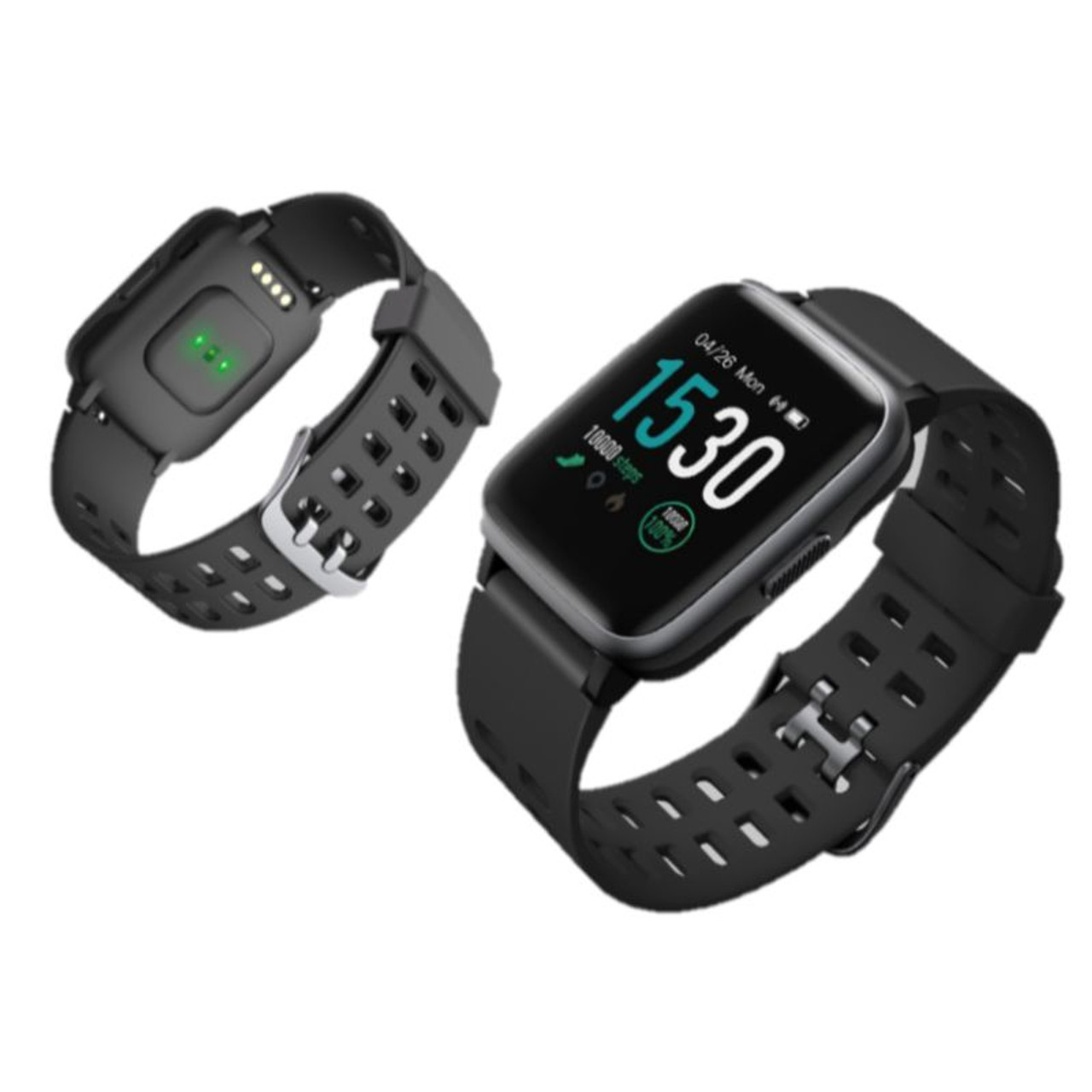 LETSCOM Smart Watch with Heart Rate Monitor, IP68 Waterproof Activity Tracker