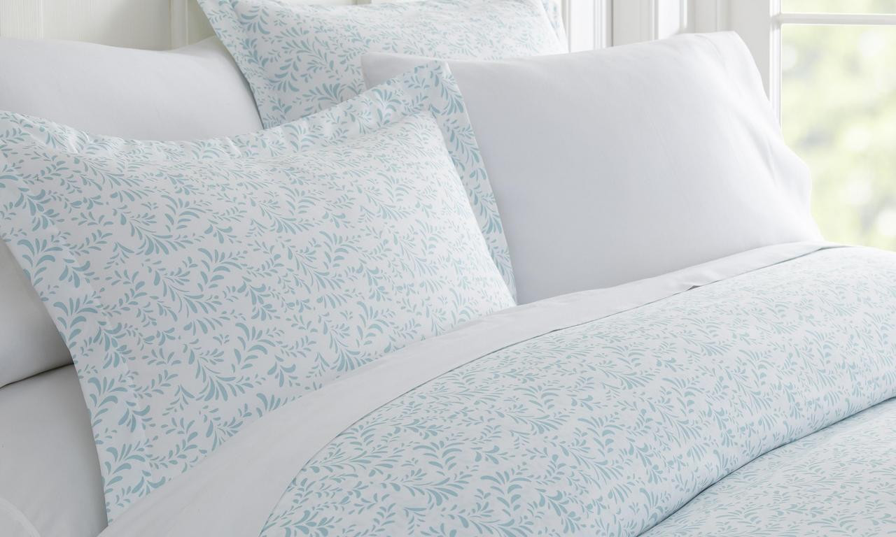 Home Collection Premium Ultra Soft 3 Piece Printed Duvet Cover Set