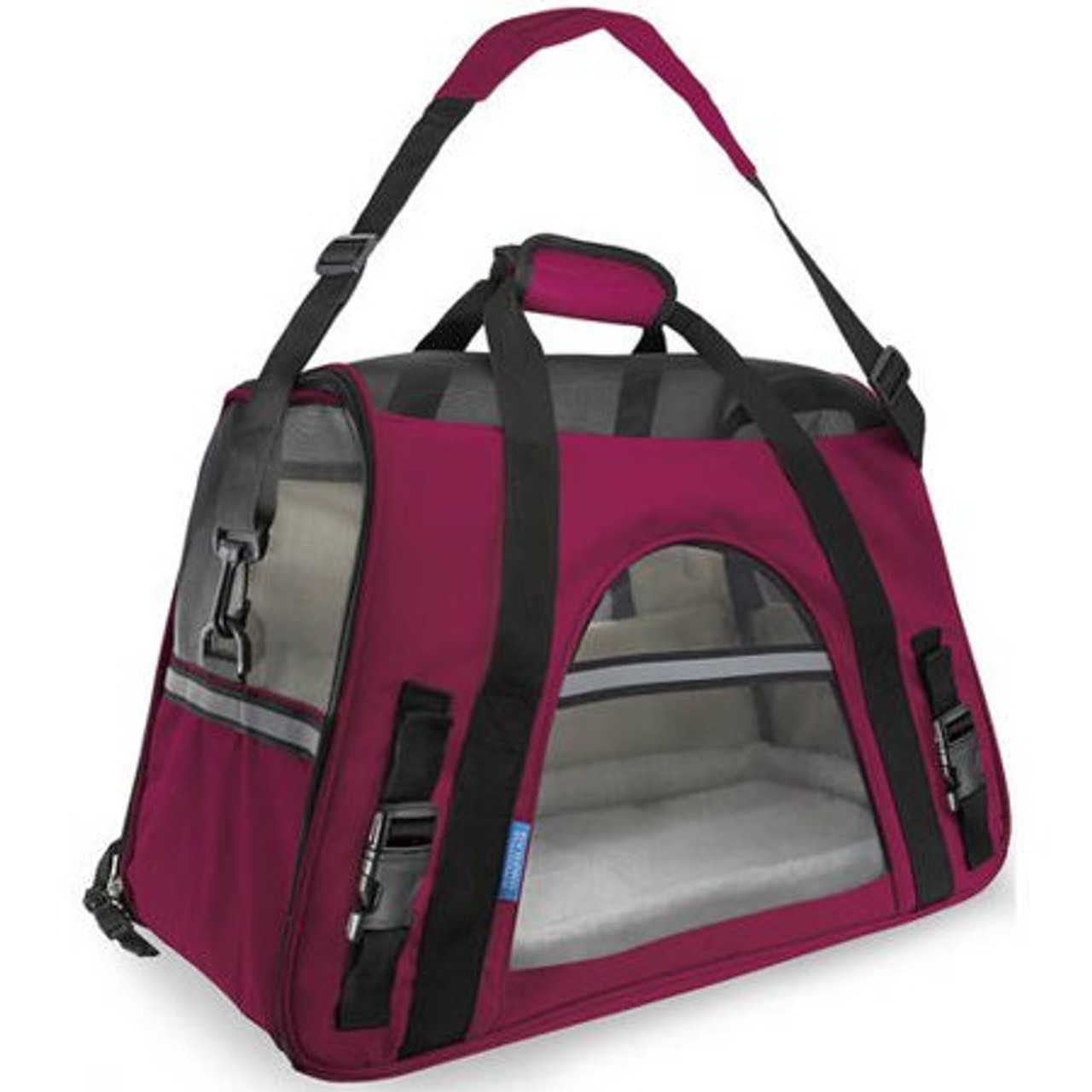 OxGord Soft Sided Cat/Dog Pet Carrier - FAA Airline Approved