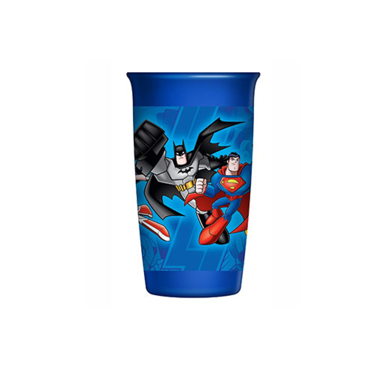 Playtex 360 degree Spoutless Cup, DC Super Friends, Blue, Stage 2, 12M+, 10 oz